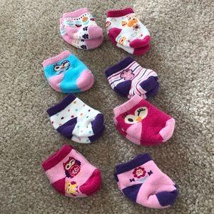 Baby Girl Socks - Newborn (8)